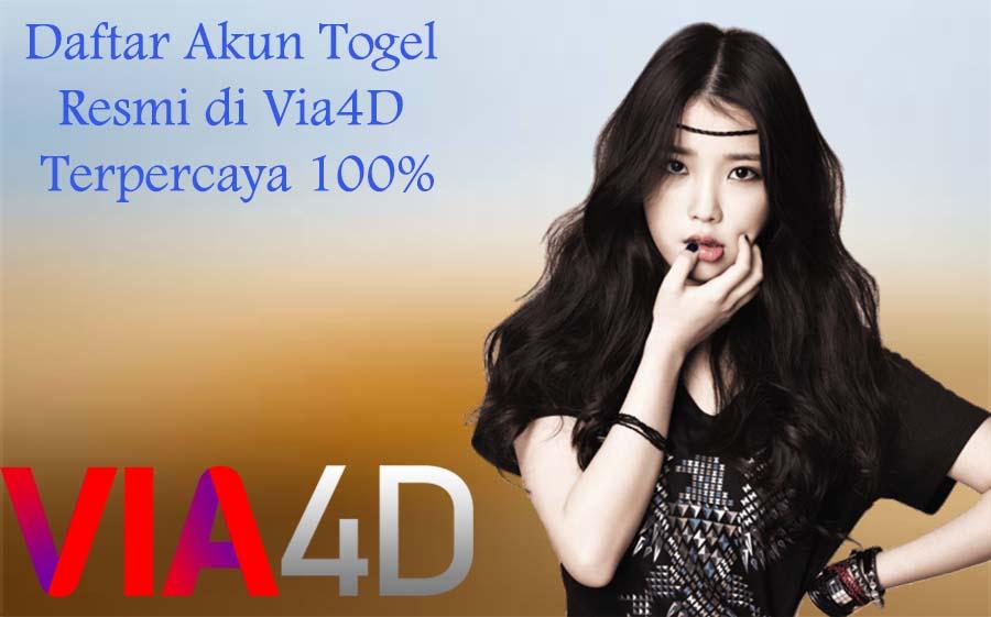 Daftar Akun Togel Resmi di Via4D Terpercaya 100%